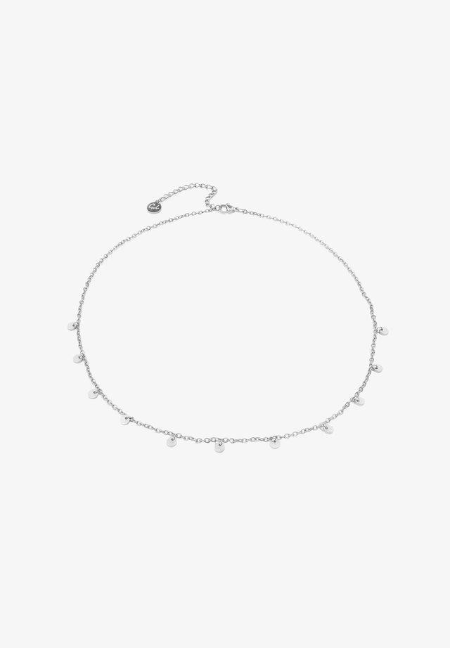 11 COIN  - Necklace - silber