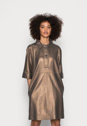 CARACAS - Shirt dress - antic brown