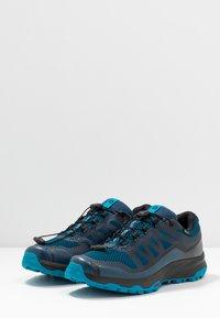 Salomon - XA DISCOVERY GTX - Trail running shoes - poseidon/black/fjord blue - 2