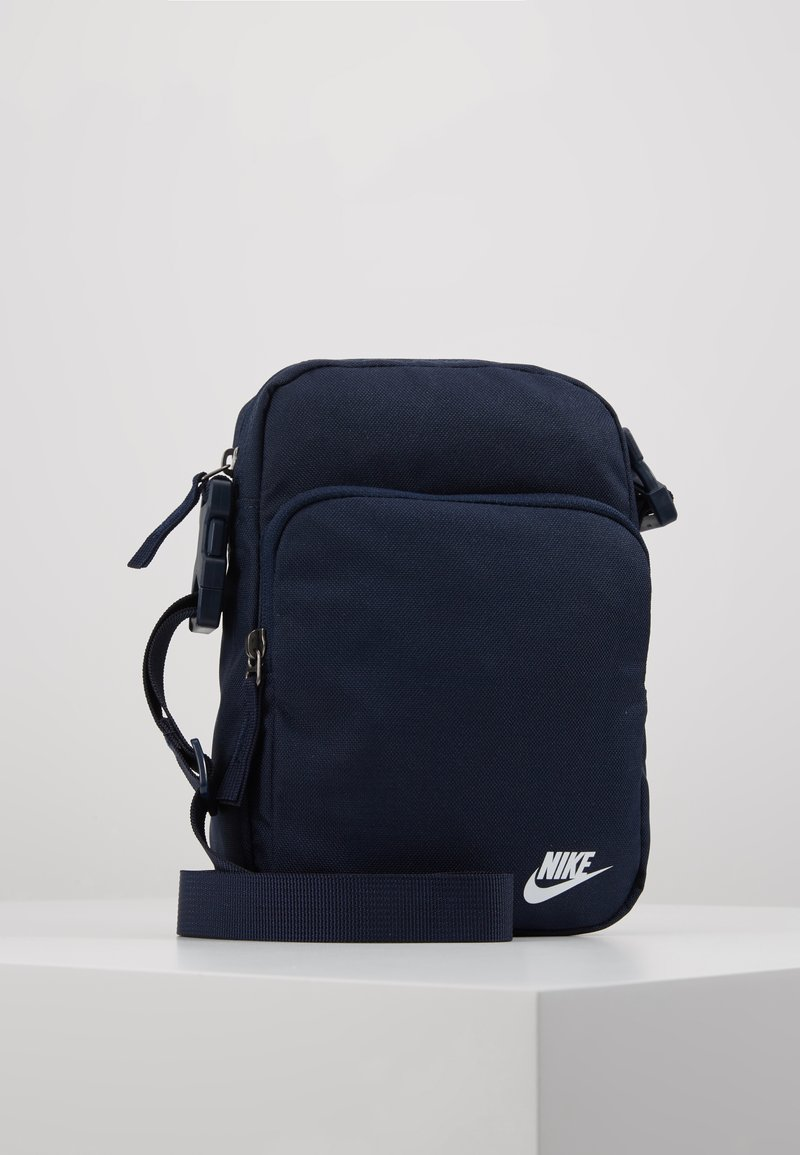 Nike Sportswear - HERITAGE UNISEX - Across body bag - obsidian/white