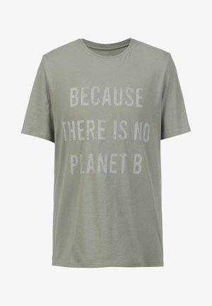 CASTELLALF SHORT SLEEVE - Print T-shirt - khaki