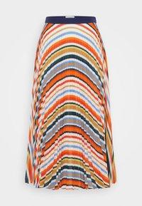 Victoria Victoria Beckham - PLEATED STRIPE SKIRT - Pleated skirt - multi - 6