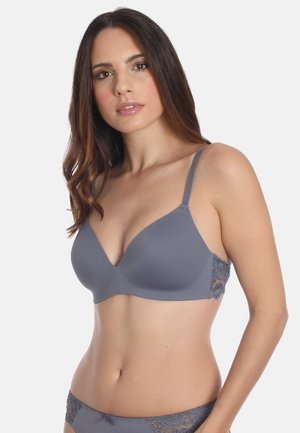 SOFT-BH  - Triangle bra - dusty grey