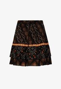 Isla Ibiza Bonita - A-line skirt - aztek print - black - 5