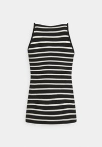 ONLY Tall - ONLMAY LIFE STRIPE SET  - Toppi - black/cloud - 3
