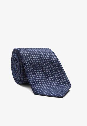 LEROY - Tie - mittelblau