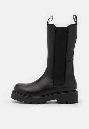 COSMO - Platform boots - black
