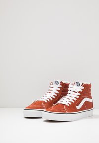 Vans - SK8 - Baskets montantes - picante/true white - 2