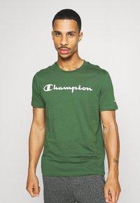 Champion - 2PACK CREW NECK - T-shirt print - grey - 1