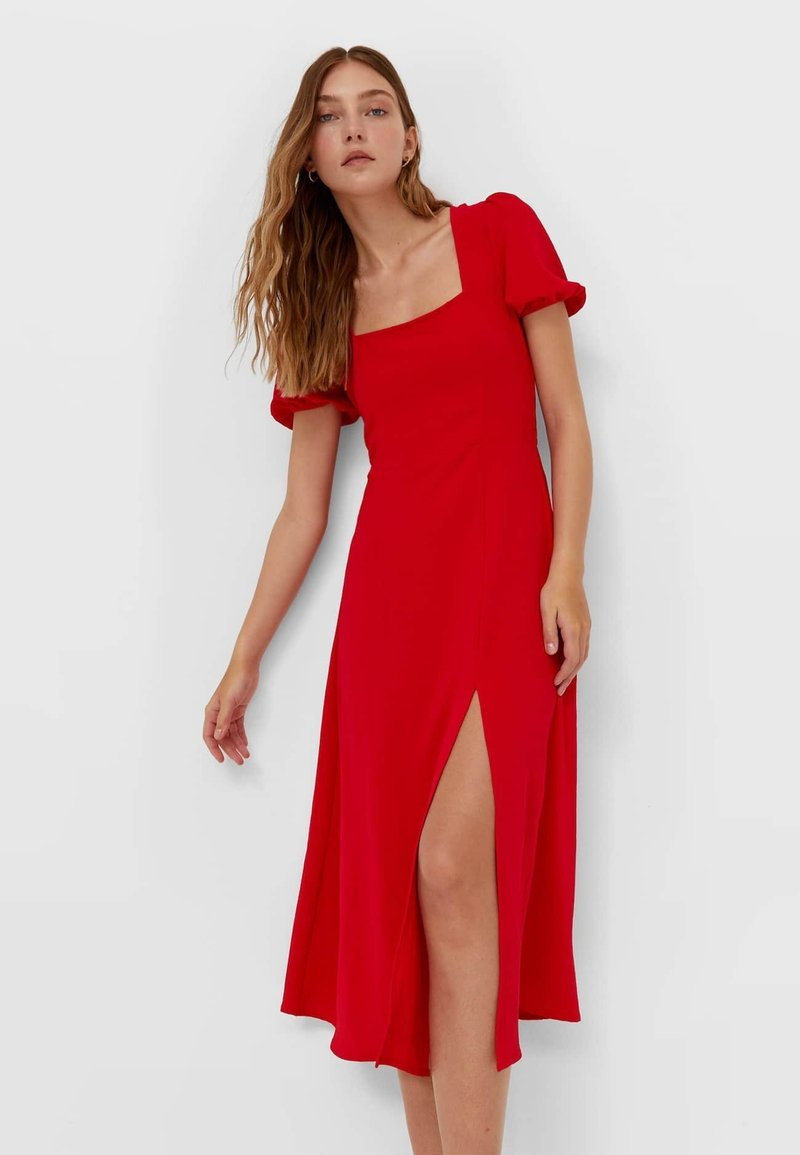 Stradivarius - Day dress - red