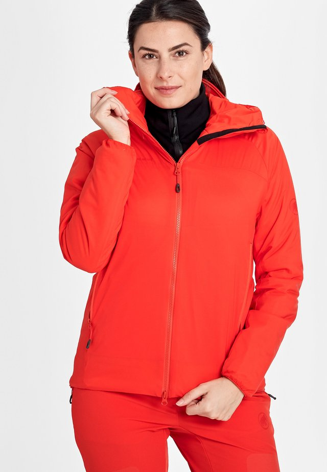 Soft shell jacket - spicy