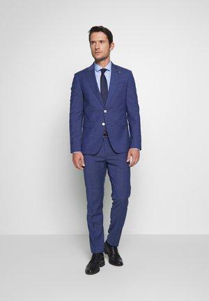 PEAK LAPEL SUIT SLIM FIT - Costume - blue