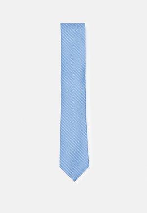 FINE STITCHED STRIPE - Krawat - slate blue