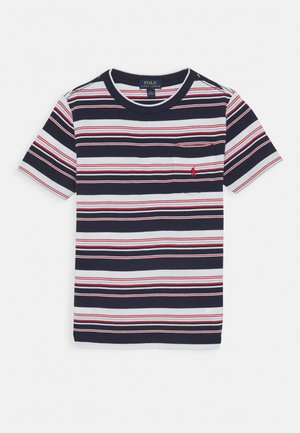 Print T-shirt - newport navy/multi