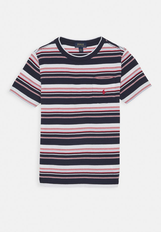 T-Shirt print - newport navy/multi