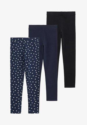 ELIOPK-I  3er-Pack - Leggings - Trousers - bleu marine foncé
