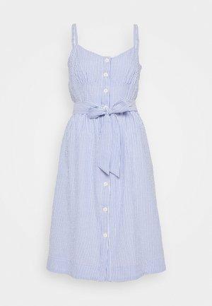 ROSINI DRESS CARLYLE SEERSUCKER - Denní šaty - blue/white