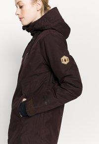 Volcom - FERN INS GORE - Snowboard jacket - black/red - 4