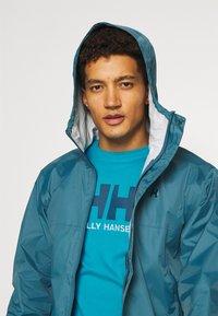 Helly Hansen - LOGO - Print T-shirt - caribbean sea - 3