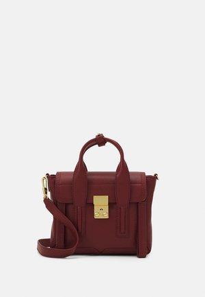PASHLI MINI SATCHEL - Handbag - pomegranate