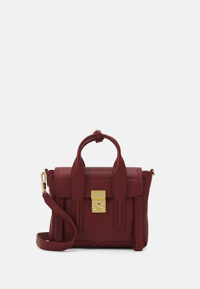 PASHLI MINI SATCHEL - Käsilaukku - pomegranate