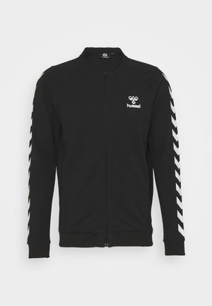 HMLRAY ZIP JACKET - Zip-up hoodie - black