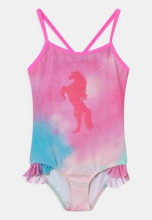 KID - Swimsuit - pink batik