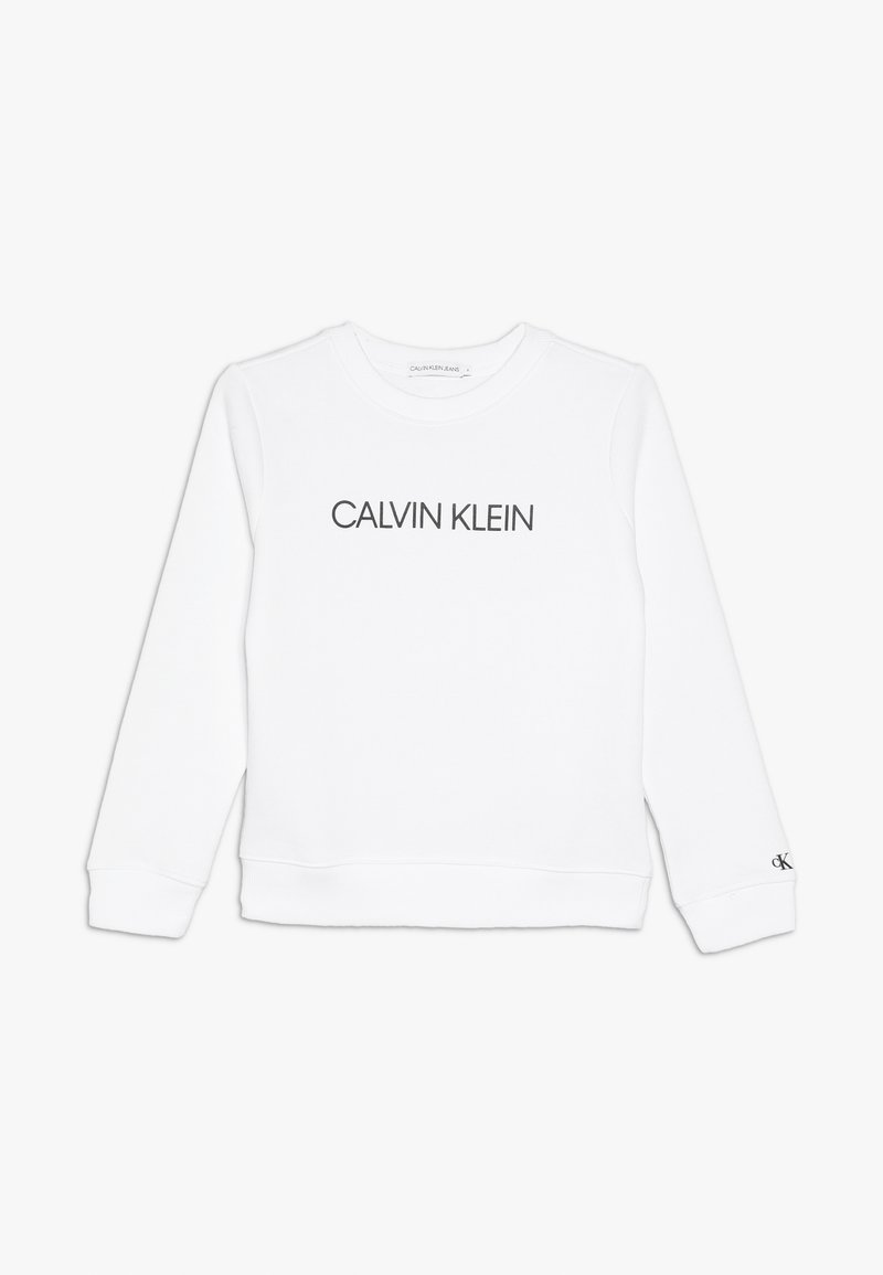 Calvin Klein Jeans - INSTITUTIONAL  - Bluza - white