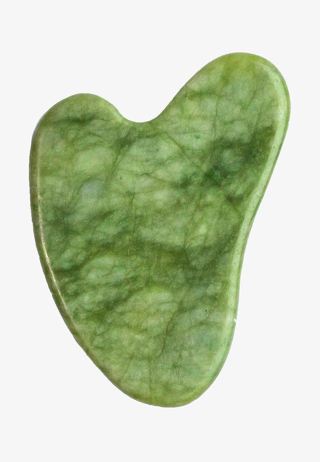 JADE GUA SHA - Accessori skincare - green