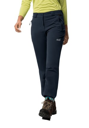 ACTIVATE THERMIC - Trousers - midnight blue