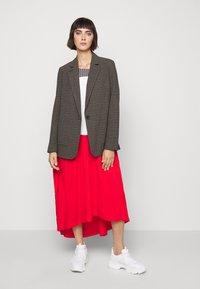 Won Hundred - LINDA - Short coat - brown melange - 1