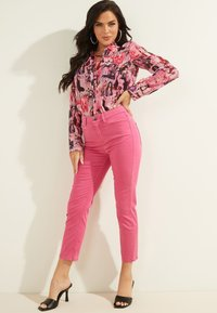 Guess - Button-down blouse - mehrfarbe rose - 1