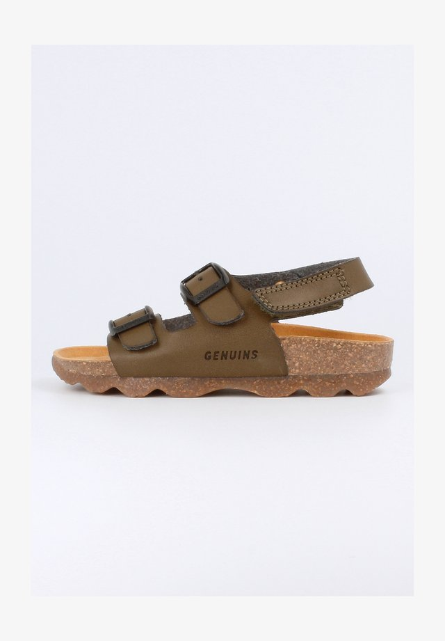 KINDU VACHETTA - Sandals - khaki