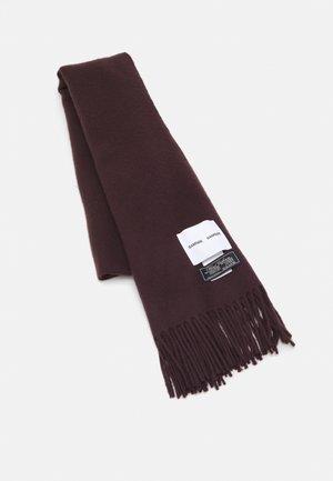 ACCOLA MAXI SCARF - Sjaal - chocolate plum