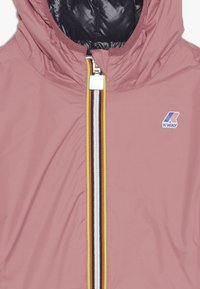K-Way - THERMO PLUS DOUBLE - Down jacket - pink/blue - 5
