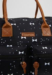 Kidzroom - DIAPERBAG - Baby changing bag - black - 7