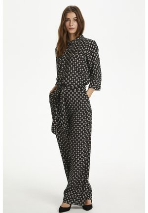 KARUTIE  - Jumpsuit - black tie/dot aop
