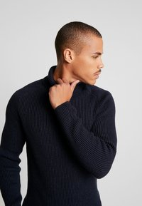 Marc O'Polo - TURTLE NECK - Jumper - total eclipse - 4