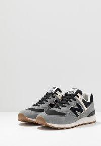 New Balance - Baskets basses - black/grey - 2