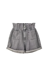 PULL&BEAR - Denim shorts - light grey - 0