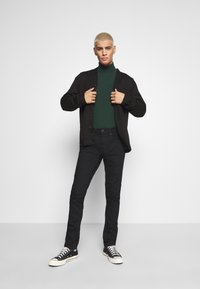 Burton Menswear London - TWILL - Jeans Skinny Fit - black - 1