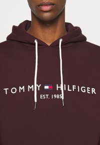 Tommy Hilfiger - LOGO HOODY - Sweat à capuche - deep burgundy - 5