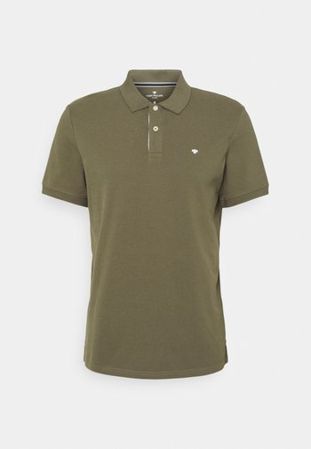 BASIC WITH CONTRAST - Poloshirt - oak leaf green