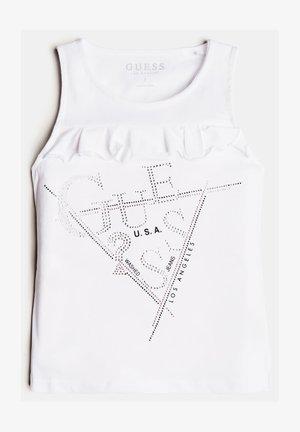 STRASS - Print T-shirt - blanc