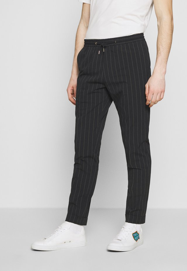 GENTS DRAWSTRING TROUSER - Bukse - black