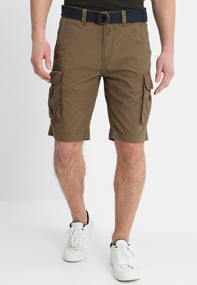 Shorts - deep tobacco