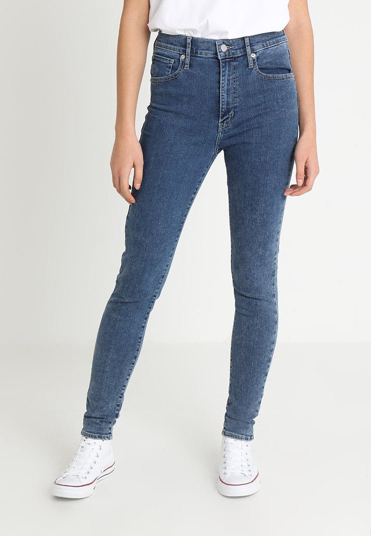 Levi's® - MILE HIGH SUPER SKINNY - Jeans Skinny Fit - blue denim