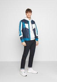 Diesel - L-MAY JACKET - Leather jacket - blue - 1