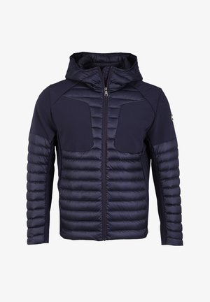 MIT KAPUZE - Down jacket - navy