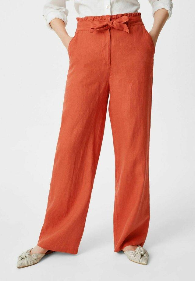 Broek - dark orange